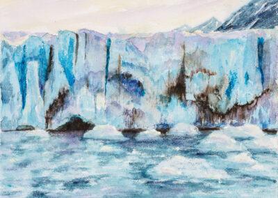 Gletscher – Abbruchkante