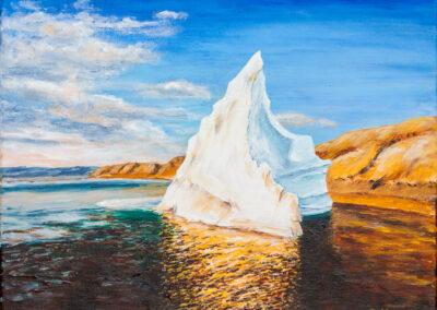 Sonne und Eis