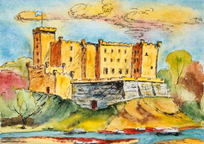 Dunvagan Castle Isle of Skye