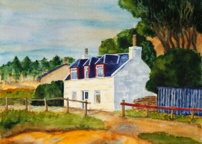 Haus bei Portree / Isle of Skye