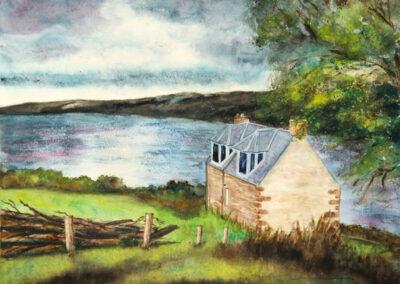 Morgen am Loch Ness